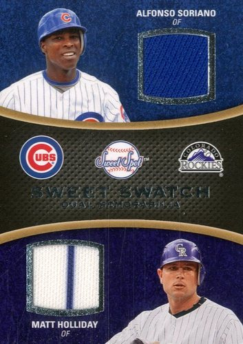 Photo of 2008 Sweet Spot Swatches Dual #DSH Alfonso Soriano/Matt Holliday