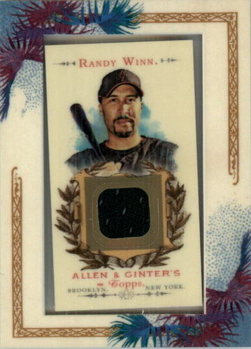 Photo of 2007 Topps Allen and Ginter Relics #RW Randy Winn J