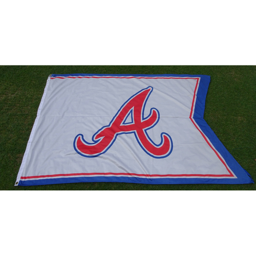 "Photo of Atlanta Braves ""A"" Flag - Flew over Turner Field during the Final Season"