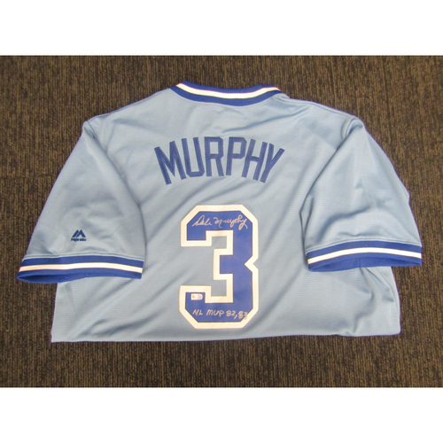 Photo of Braves Charity Auction - Dale Murphy Jersey