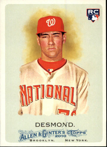 Photo of 2010 Topps Allen and Ginter #172 Ian Desmond (RC)