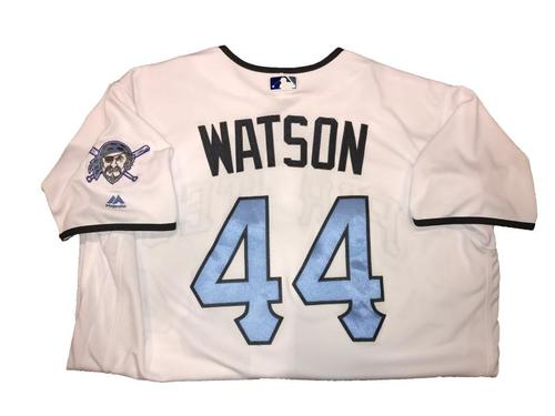 Photo of Tony Watson Game-Used Father's Day Weekend Jersey - Worn on 6/17 & 6/18