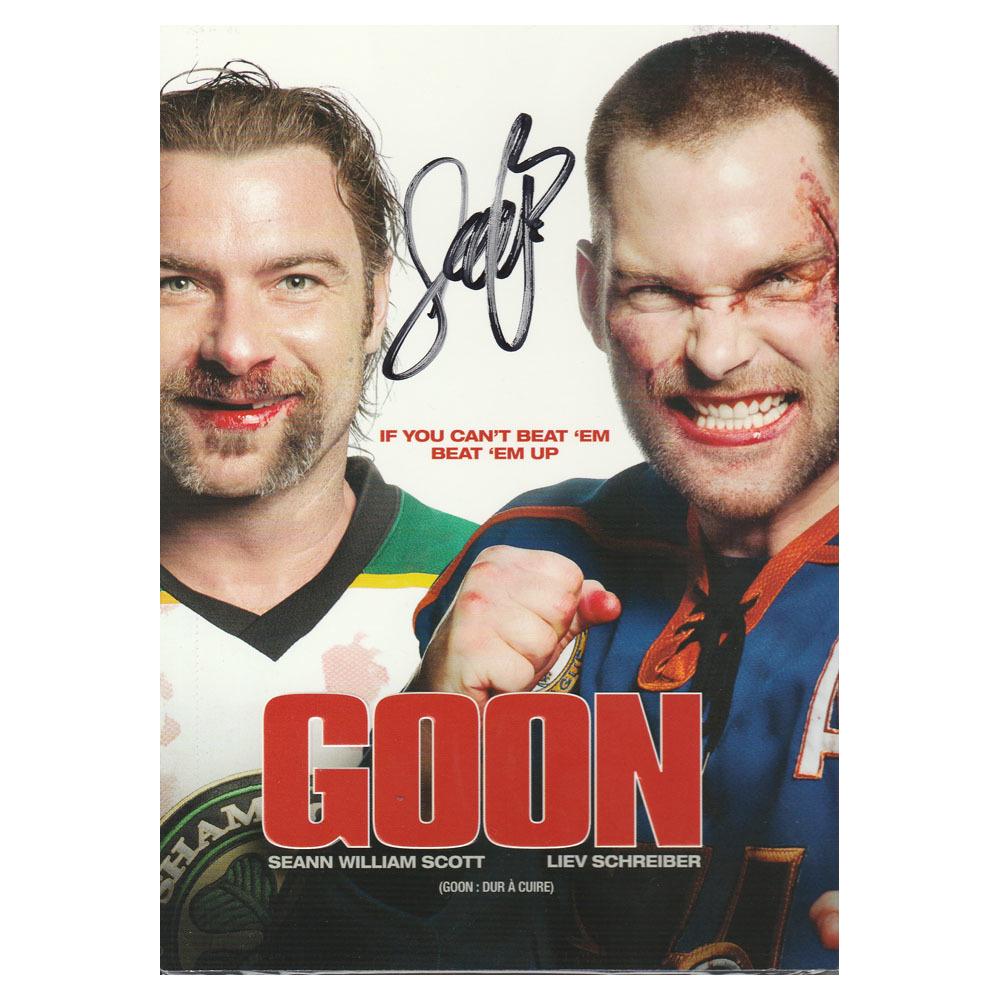 Jay Baruchel Autographed GOON DVD