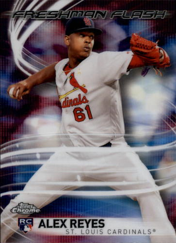Photo of 2017 Topps Chrome Freshman Flash #FF17 Alex Reyes