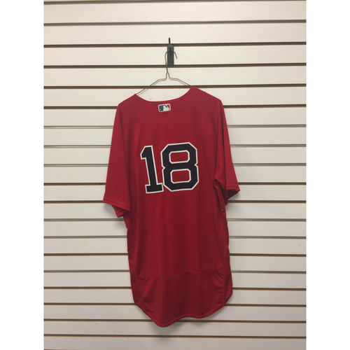 Photo of Aaron Hill Game-Used September 16, 2016 Home Alternate Jersey