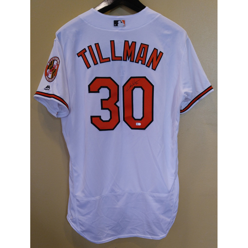 Photo of Chris Tillman - Jersey: Autographed