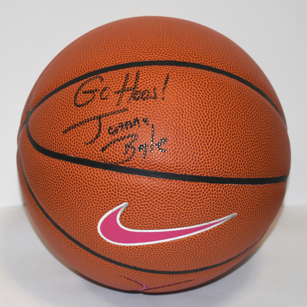Women's Basketball Head Coach Joanne Boyle Autographed Ball