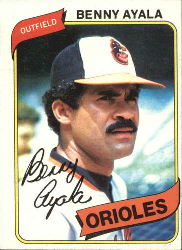 Photo of 1980 Topps #262 Benny Ayala