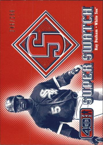 Photo of 2002 Upper Deck 40-Man Super Swatch #SRD Ray Durham