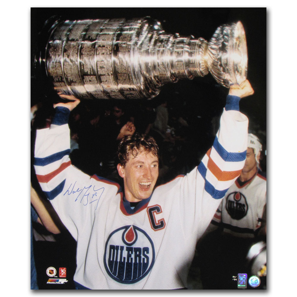 Wayne Gretzky Autographed Limited-Edition Edmonton Oilers 20X24 Photo