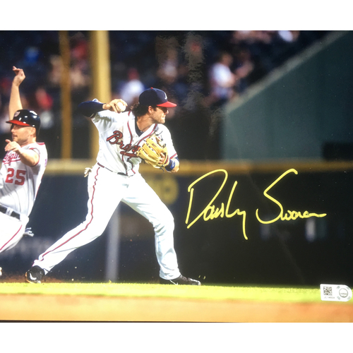 Braves Charity Auction - Dansby Swanson Autographed 8x10 Photo