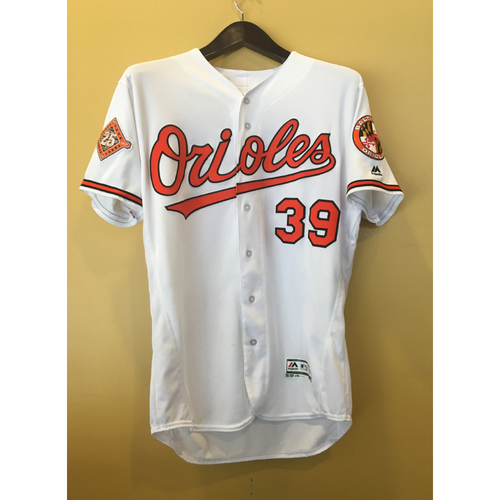 Photo of Kevin Gausman - 2017 Opening Day Jersey: Game-Used