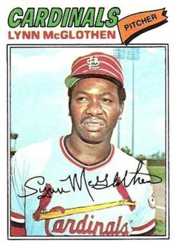 Photo of 1977 Topps #47 Lynn McGlothen