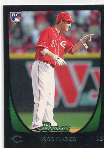 Photo of 2011 Bowman Draft #35 Todd Frazier Rookie Card -- Yankees post-season