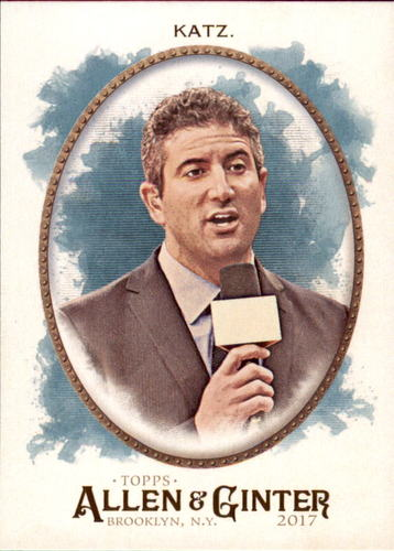 Photo of 2017 Topps Allen and Ginter #256 Andy Katz
