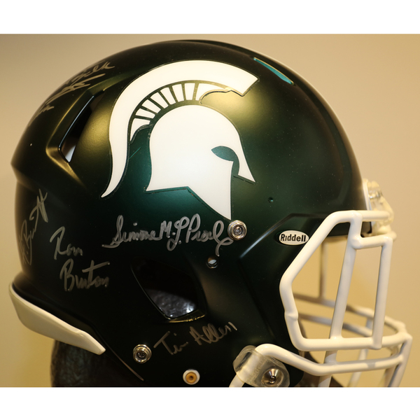 Michigan State Autographed Full-Size Football Helmet