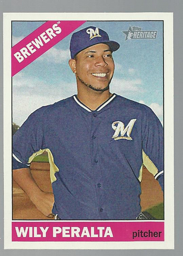 Photo of 2015 Topps Heritage #376 Wily Peralta