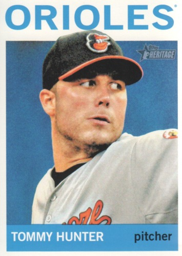 Photo of 2013 Topps Heritage #338 Tommy Hunter
