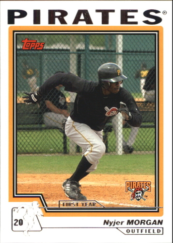 Photo of 2004 Topps Traded #T140 Nyjer Morgan FY RC