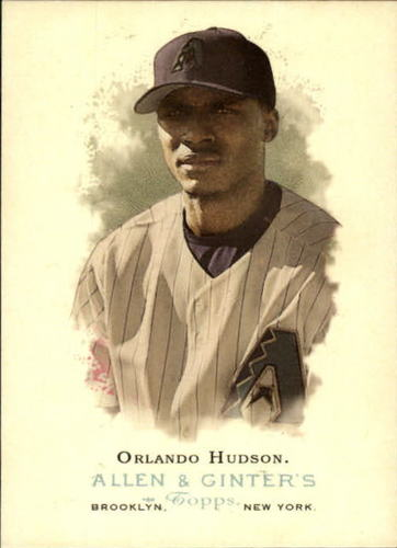 Photo of 2006 Topps Allen and Ginter #29 Orlando Hudson