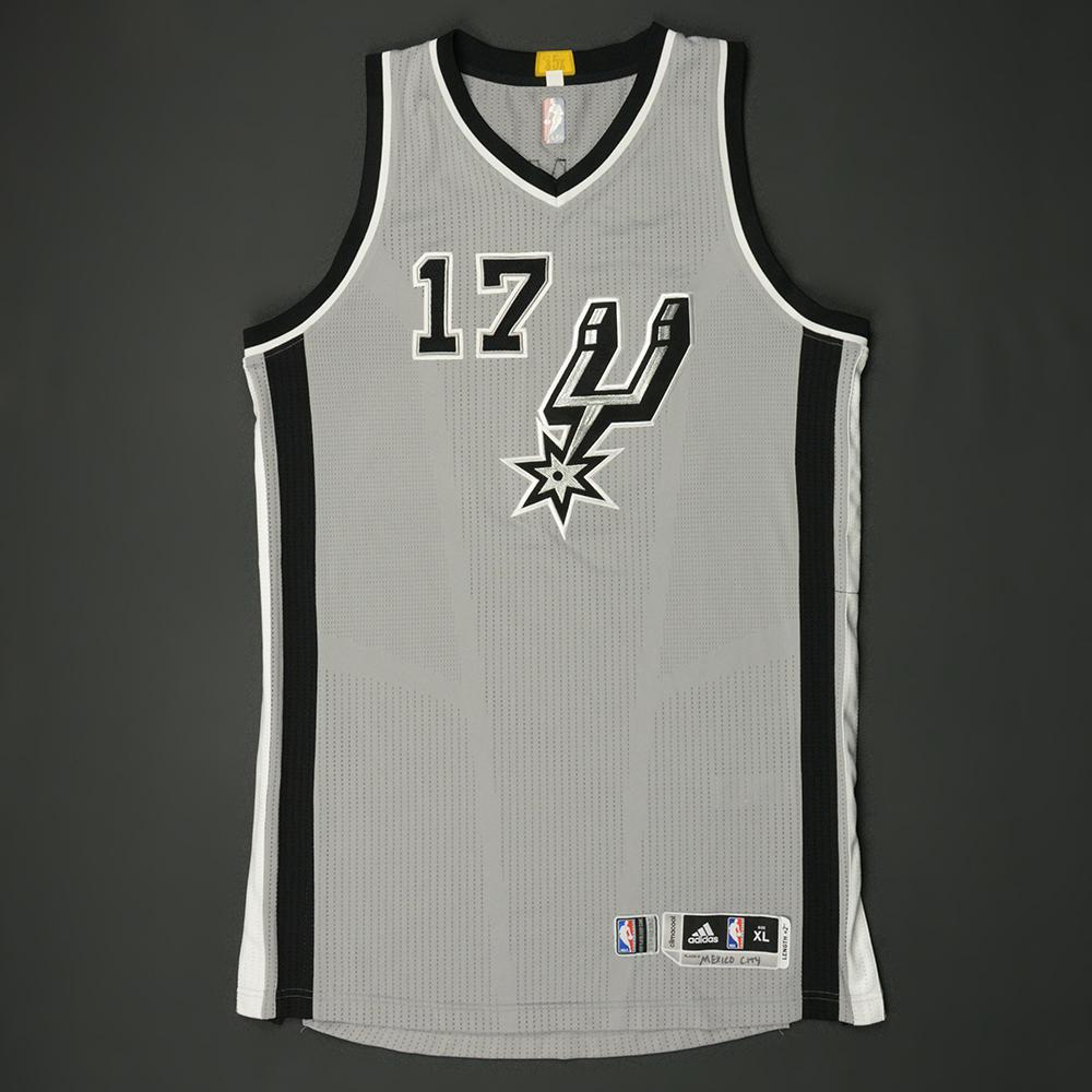 Jonathan Simmons - San Antonio Spurs - NBA Global Games 2017 Mexico City - Game-Worn Jersey