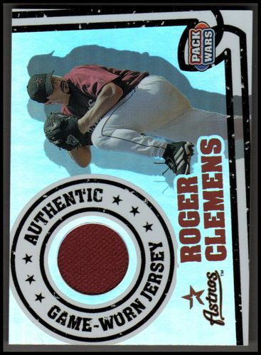 Photo of 2005 Topps Pack Wars Relics #RC Roger Clemens Jsy A