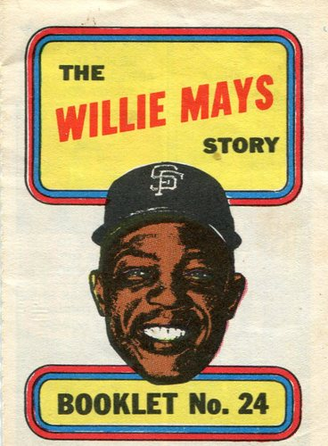 Photo of 1970 Topps Booklets #24 Willie Mays
