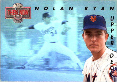 Photo of 1993 Upper Deck Then And Now #TN5 Nolan Ryan