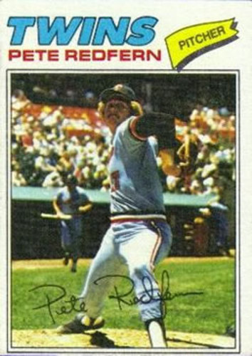 Photo of 1977 Topps #249 Pete Redfern RC