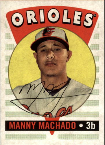 Photo of 2017 Topps Archives '16 Retro Original #RO11 Manny Machado