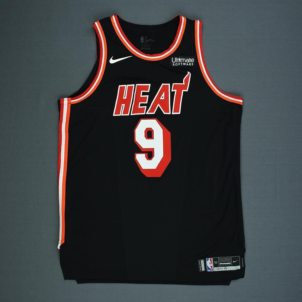 Kelly Olynyk - Miami Heat - Game-Worn Classic Edition 1988-99 Road Jersey - 2017-18 Season