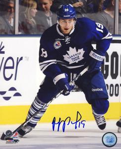 Joffrey Lupul Toronto Maple Leafs Autographed Action 8x10 Photo