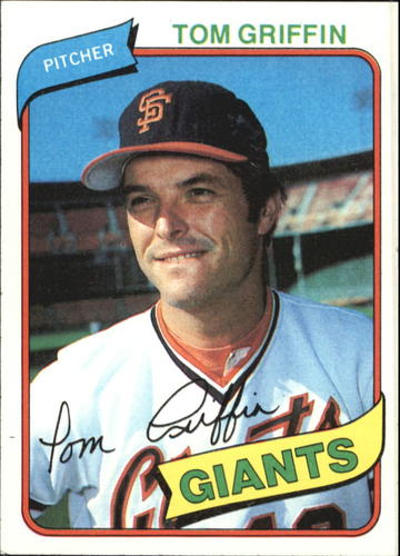 Photo of 1980 Topps #649 Tom Griffin
