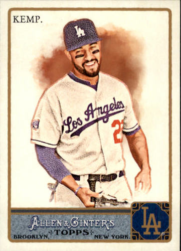 Photo of 2011 Topps Allen and Ginter #310 Matt Kemp SP