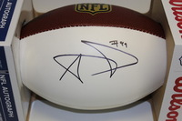 NFL - RAMS AARON DONALD SIGNED PANEL BALL