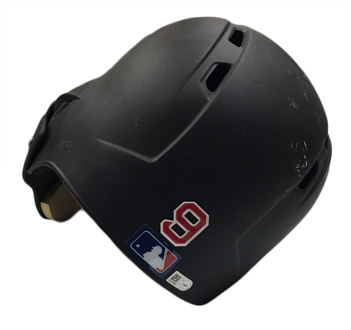 Photo of Javier Baez Game-Used Helmet -- Size 7 1/4 -- 1916 Throwback Game -- Reds vs. Cubs -- 7/6/16 -- Cubs 2016 World Championship Season