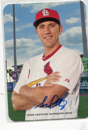 Photo of 2016 Topps Archives '69 Topps Super Autographs Stephen Piscotty 48/99