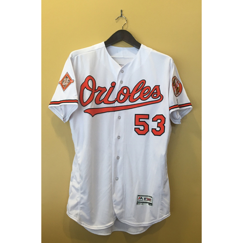 Photo of Zach Britton - 2017 Opening Day Jersey: Game-Used