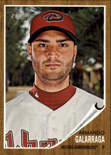 Photo of 2011 Topps Heritage #92 Armando Galarraga