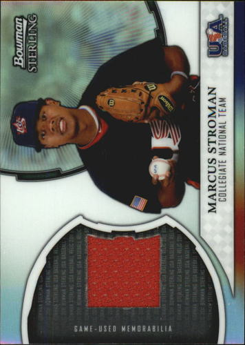 Photo of 2011 Bowman Sterling USA Baseball Relics #MS Marcus Stroman