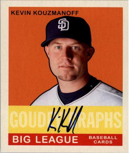 Photo of 2007 Upper Deck Goudey Goudey Graphs #KK Kevin Kouzmanoff