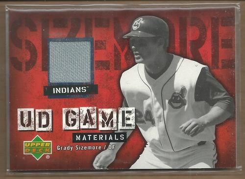 Photo of 2006 Upper Deck UD Game Materials #SI Grady Sizemore Jsy S2