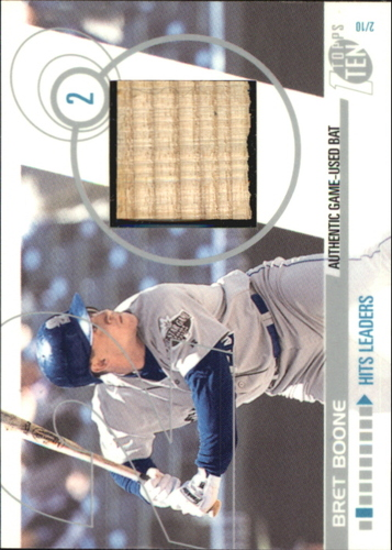 Photo of 2002 Topps Ten Relics #TTRBB Bret Boone Bat E