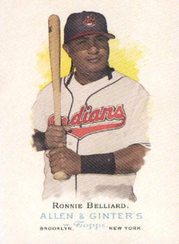 Photo of 2006 Topps Allen and Ginter #34 Ronnie Belliard