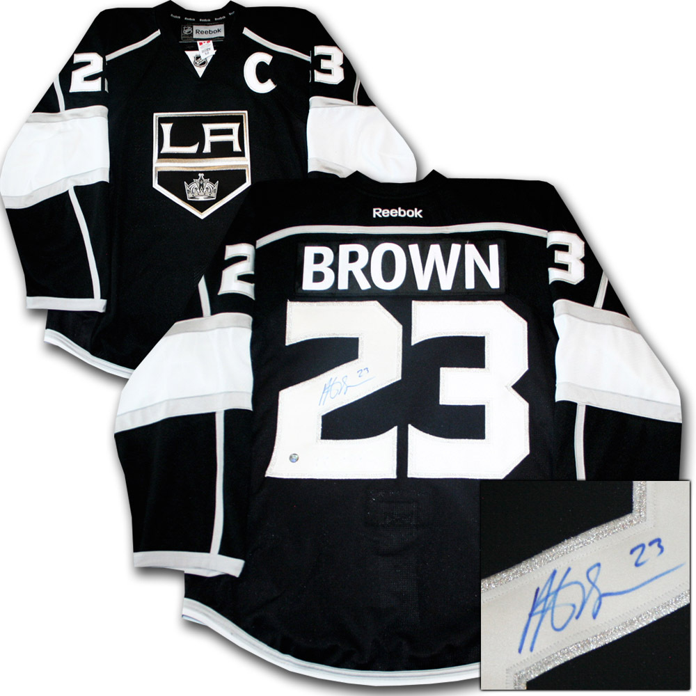 Dustin Brown Autographed Los Angeles Kings Authentic Pro Jersey