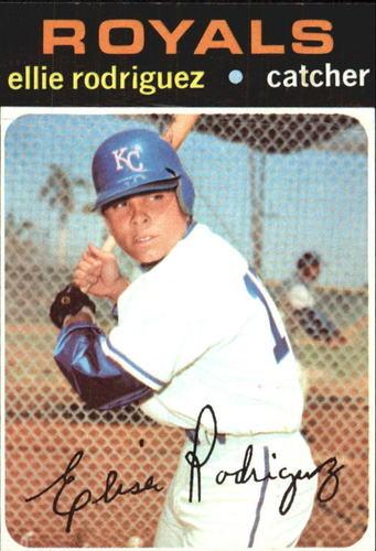 Photo of 1971 Topps #344 Ellie Rodriguez
