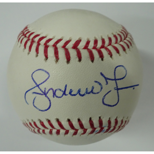 Photo of Andruw Jones Autographed Baseball