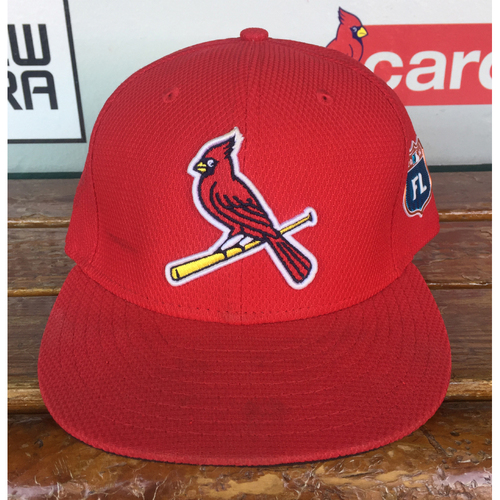 Photo of Cardinals Authentics: Seth Maness Game Worn 2016 Spring Training Cap