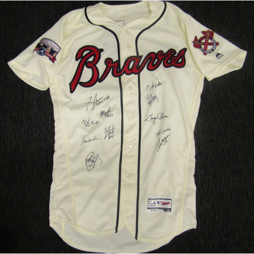 Photo of Braves Charity Auction - 1991 Team Signed Jersey