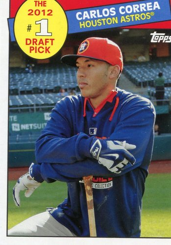 Photo of 2016 Topps Archives '85 Topps #1 Draft Pick Carlos Correa